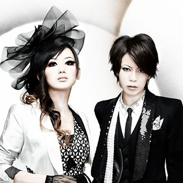 miko (L) and Jyou (R) from exist†trace from Japan