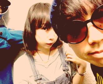 """Rinko ... Vocals and Rhythm Guitar Yuzuru Takeda ... Guitar Hirofumi """"Paro"""" Katsumoto ... Drums"""