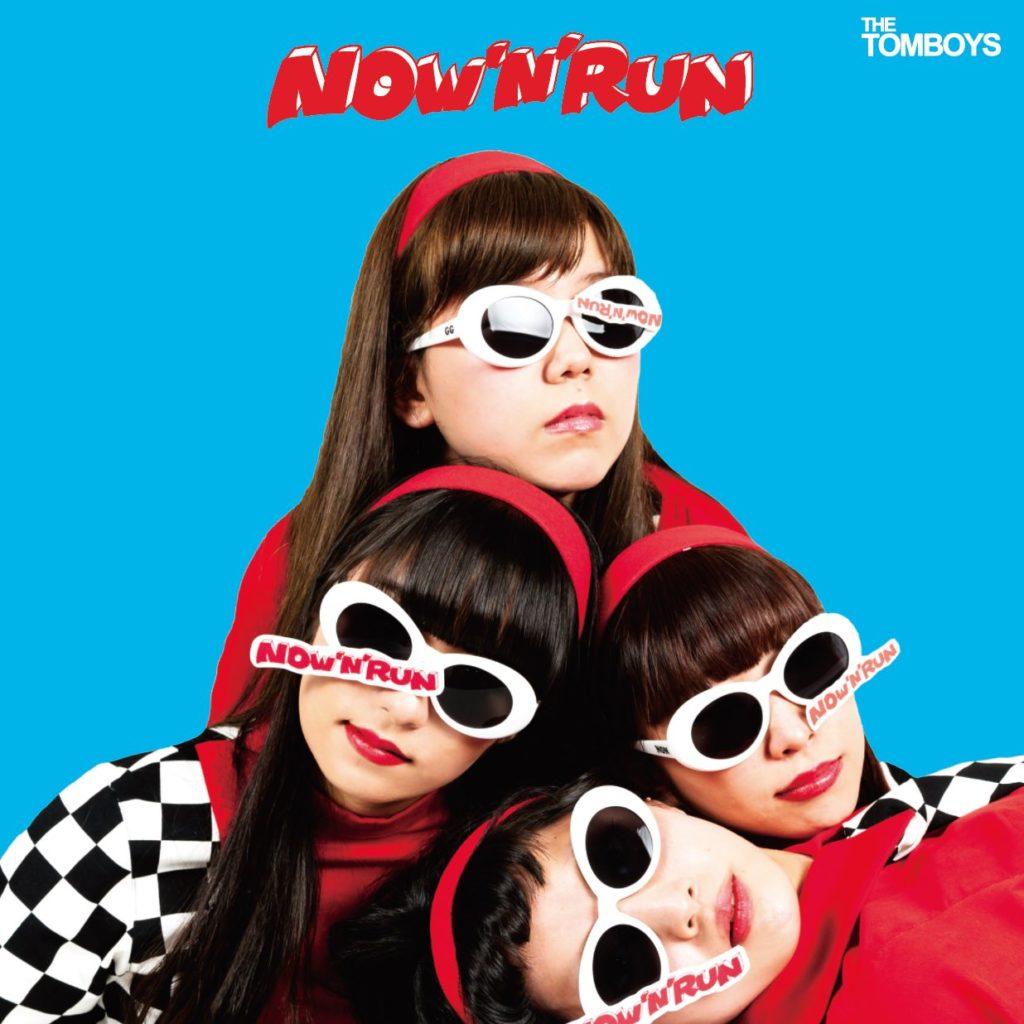 the Tomboys NOW 'N' RUN CD